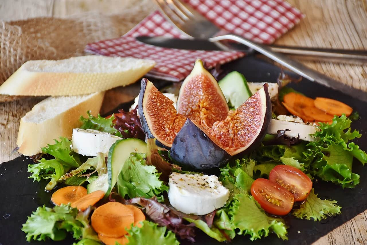 National cheese day,                 salad figs cheese                pizza food italian                fig cheese bread