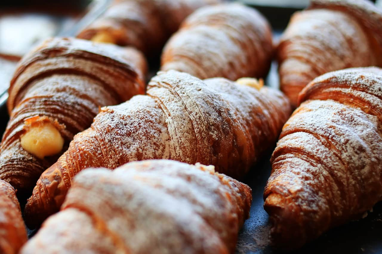 National croissant day,                 bread croissants food