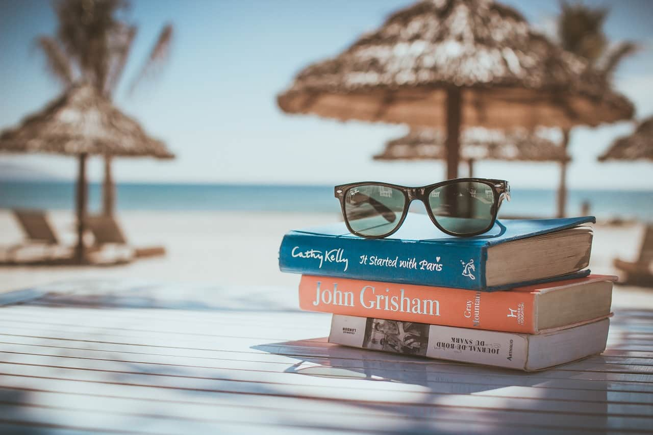 National sunglasses day,                 books reading beach                girl bikini beach