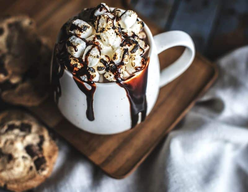 chocolate-chip-cookie baked beverage biscuit