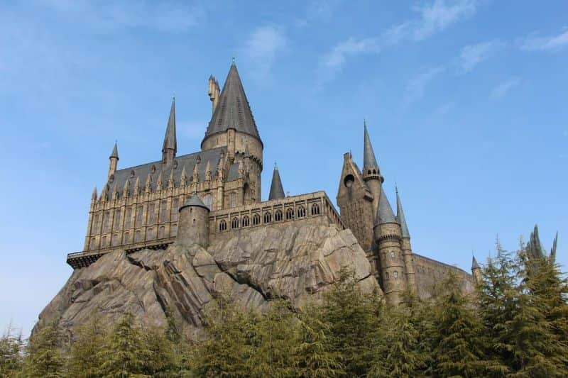 National harry-potter day,                 castle sky architecture