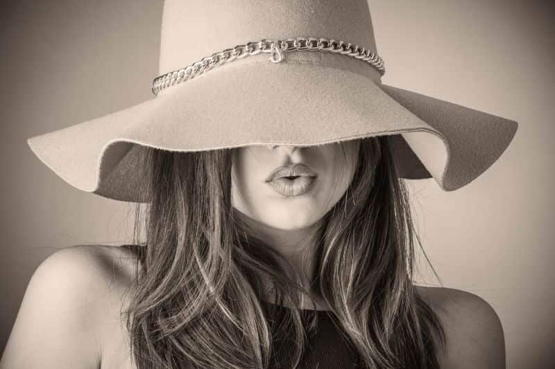 hat fashion beautiful woman woman