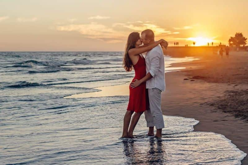 National kissing day,                 of young couple love                sunset kiss couple                couple romance love