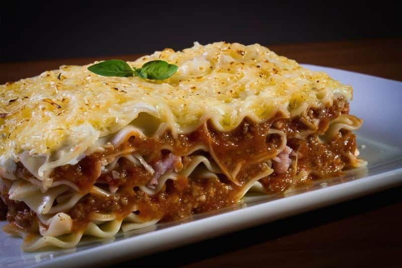 National lasagna day,                 meal dinner food