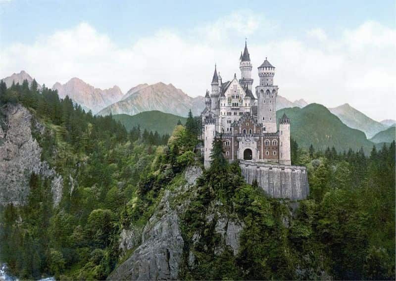 National princess day,                 neuschwanstein castle bavaria